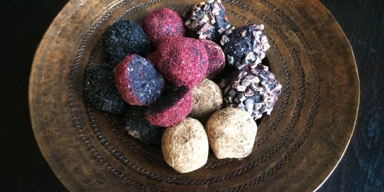 lakritsi-pähkinä pallerot